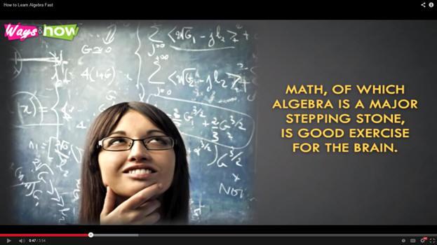 how to learn algebra fast pdf